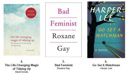 August bestsellers 2